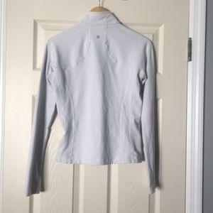 •Lululemon• women's white bomber jacket
